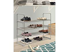 4 Tier Shoe Rack Book Shelf