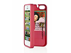 iPhone 5 Case w/Hinged Back - Pink