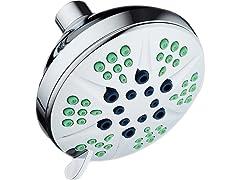 "HotelSpa 4.3"" 6-Setting XL Luxury Shower Head"