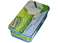 Swiffer Wet Mopping Cloth Refill, 24 Ct