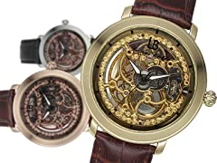 Mechanical Skeleton Watch Gift Set