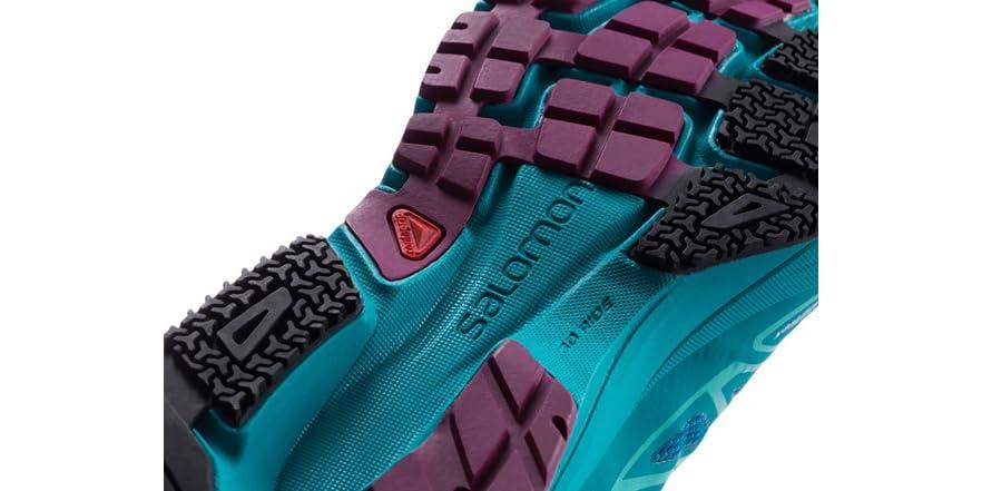3be3b61efaf7 Salomon Women s Sonic Aero Shoes Blue Teal