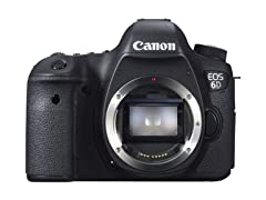 Canon EOS 6D 20.2MP DSLR Camera Body