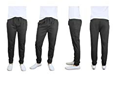 GBH Men's Cotton Stretch Twill Joggers