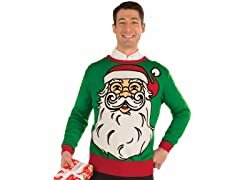 Ugly Holiday Sweaters, Santa Claus