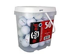 50pk of Recycled Pinnacle Golf Balls