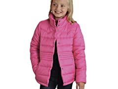 Pink Quilted Jacket (S-XL)