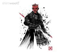 Watercolor Sith Lord