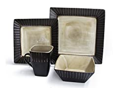 Stonegate 16Pc Dinnerware Set-Ivory