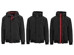 Men's Heavyweight Hooded Bomber Jacket