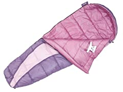 Eureka 2631851 Kids Lady Bug 30-Degree Sleeping Bag
