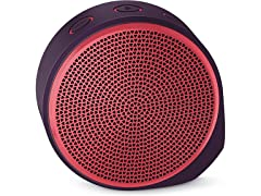 Logitech X100 Mobile Wireless Speaker, Red