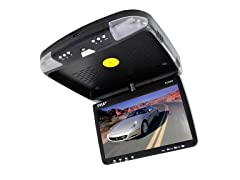 "9"" Flip Roof Mount Monitor & DVD Player"