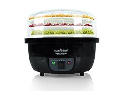 NUTRICHEF 3In1 Dehydrator Steamer Food Cooker