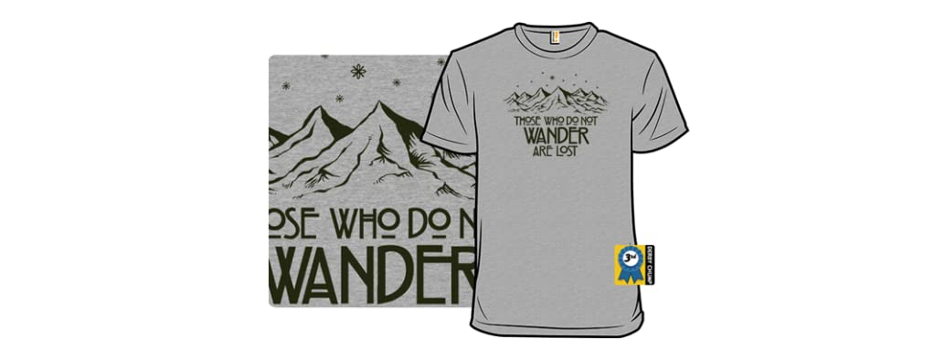 Those Who Do Not Wander