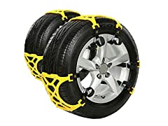 Easy To Install Snow Tire Chains