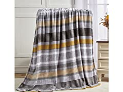 Noble House Printed Super Soft Microplush Throw Blanket