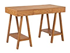 SEI Alaska Desk - Oak