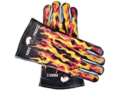Fired Up Graphic Welding Gloves - XL