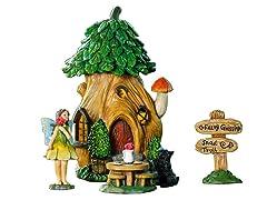 Treehouse Miniature Fairy Garden Set