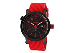 Red Line 18003-BB-01RD Men's Compressor World Time