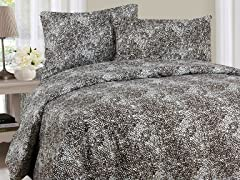 Lavish Home Sheet Set - Mink- 3 Sizes