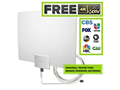 Mohu Leaf 50 4K-Ready Indoor TV Antenna