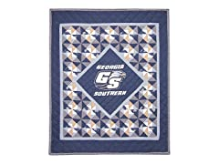 Georgia Southern Quilted Throw