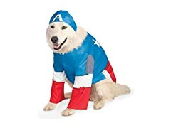 Marvel Captain America Big Dog Costume