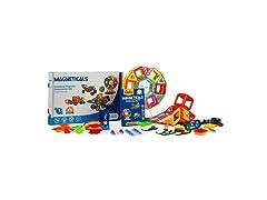 Magneticals Tile Set for Kids (168-Piece Set)