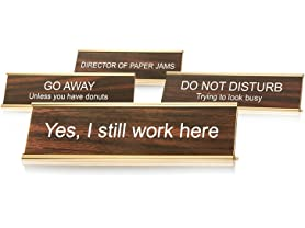 Woot Exclusive Desk Signs (Your Choice)