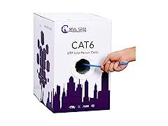 CAT6 Plenum (CMP) 1000ft Ethernet Cable