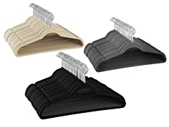 Diamond Home Velvet Hangers