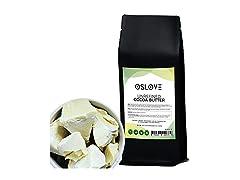 Organic Cocoa Butter FOOD GRADE 1 LB