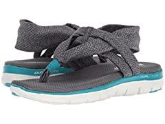 Skechers Women's Flex Appeal 2.0-Studio Time Sport Sandal