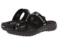 Skechers Women's Reggae-Trailway Sandals Flip-Flop
