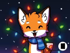 Holiday Fox Greeting Cards