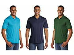 Daresay Men's Performance Polo 3-Pack