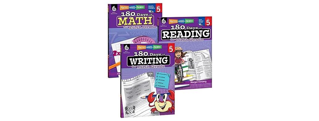 Reading, Writing & Math Workbook Bundle, You Pick