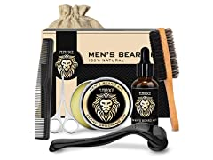 Beard Grooming & Growth Kit for Men