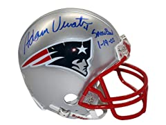 Adam Vinatieri Signed New England