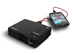 450 Lumen WXGA LED Showtime 3D Micro Projector