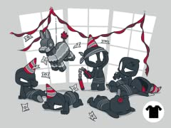 Unstealthiest Ninja: Party Time