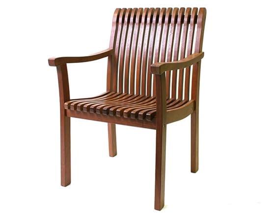 Eucalyptus Venetian Arm Chair