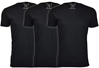 3-Pack Ethan Williams Sueded Semi-fitted Crew Neck or V-Neck T-Shirt
