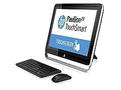 """HP 23"""" Touchscreen Intel AIO Desktop"""