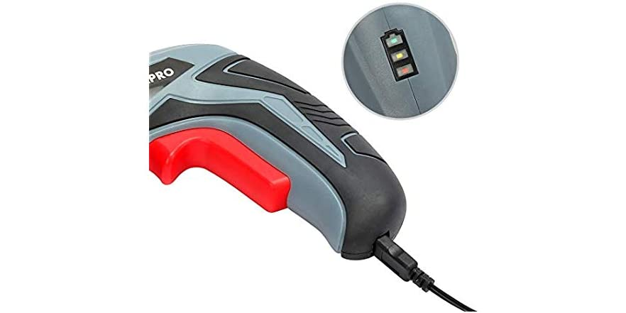 WORKPRO Cordless Rechargeable Power Screwdriver - $9.99 - Free shipping for Prime members