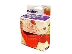Mastrad Silicone Baking Cup-Muffin 6Pc