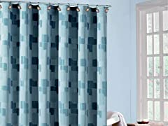 Kallista Geo Shower Curtain - 4 Colors
