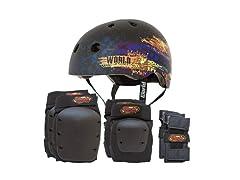 Helmet and Full Pad Combo